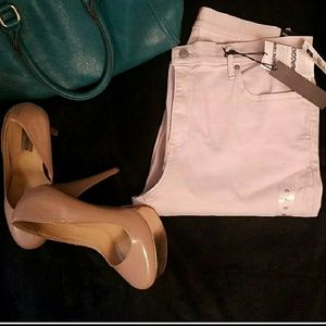 Baby Pink Resolution Skinny Jeans
